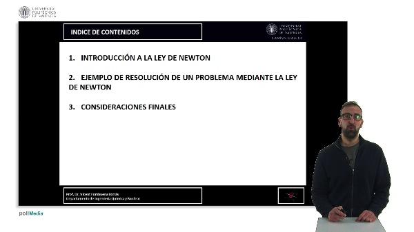 TRANSFERENCIA DE CANTIDAD DE MOVIMIENTO. LEY DE NEWTON