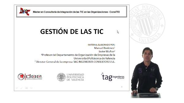 GESTIÓN DE LAS TIC