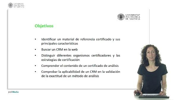 Materiales de referencia certificados (CRMs)