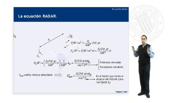 La Ecuación Radar