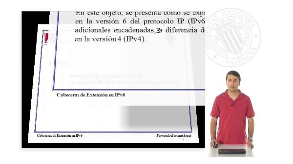 Extension de cabeceras IPv6