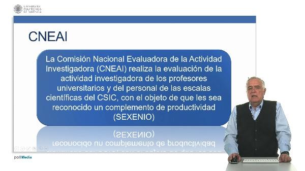 Comisión Evaluada de la Actividad Investigadora.