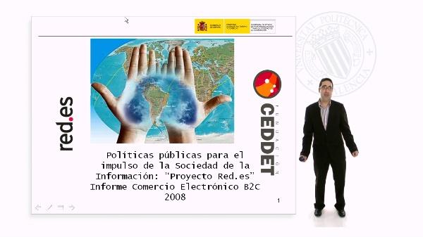 Ejemplo de estudio SI: Informe Comercio Electrónico B2C 2008