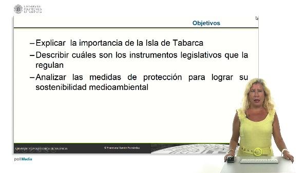 Isla de Tabarca: instrumentos legislativos para su sostenibilidad en el ámbito turístico.