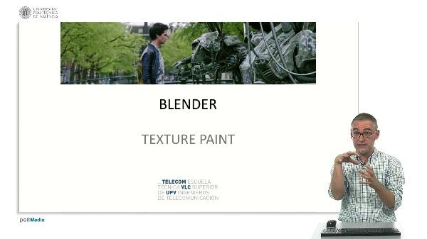 Blender: texture paint