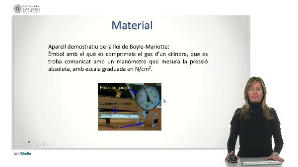 Pràctica: Llei de Boyle Mariotte.