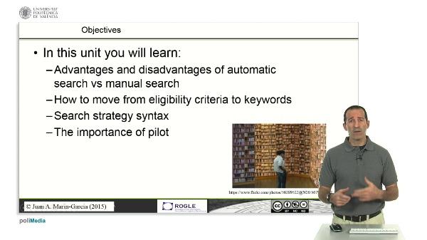 Create search strategies SLR (BASIC)