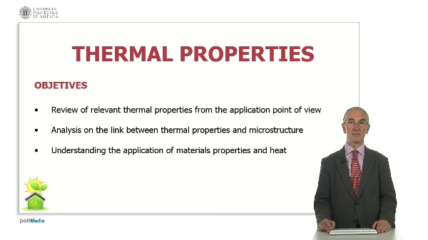 Thermal properties. Structure.