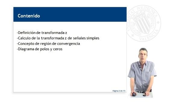 INTRODUCCION A LA TRANSFORMADA Z