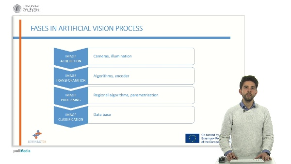 Equipment and components for artificial vision quality control