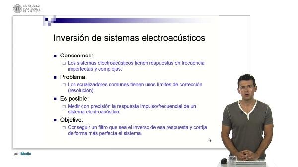 Inversión de sistemas electroacústicos