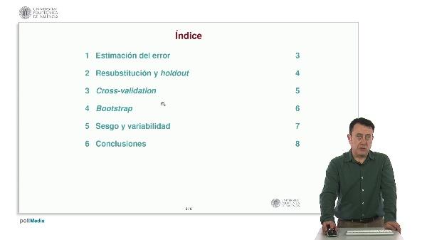 Estimación del error en reconocimiento de formas