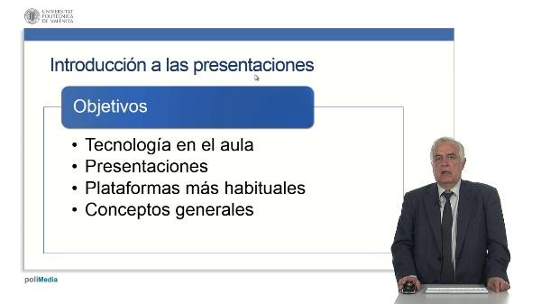 Uso de presentaciones en la docencia