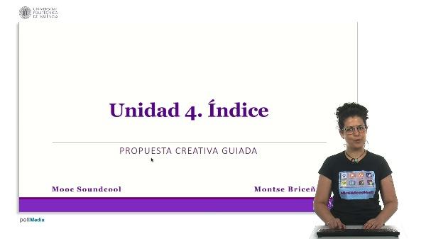 Unidad 4. Índice