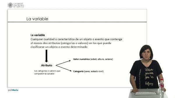 Las variables.