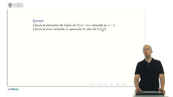 Derivadas sucesivas y polinomio de Taylor 2