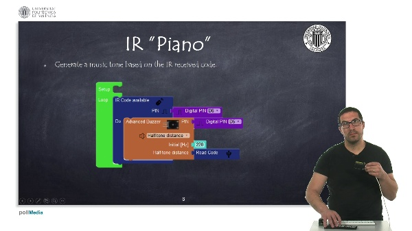 Programming Example: IR ¿Piano¿
