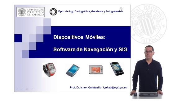 Software de Navegación y SIG