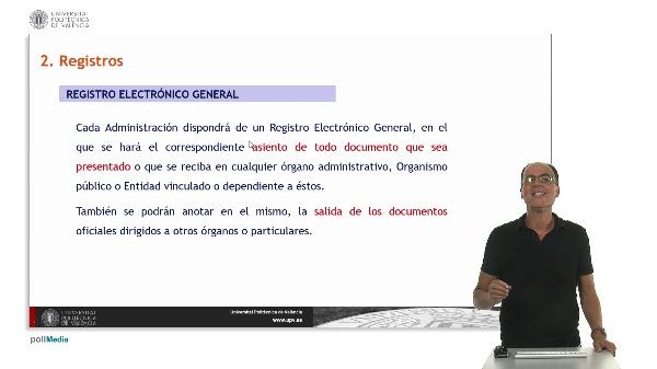 Módulo 5. La iniciación del procedimiento: Presentación de solicitudes y Registro General. Sesión 2.
