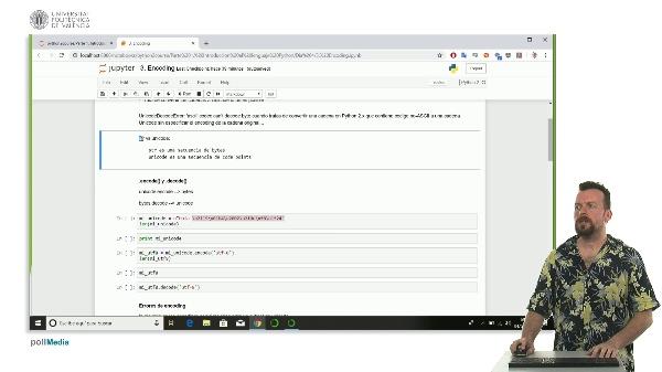 Encoding en python.