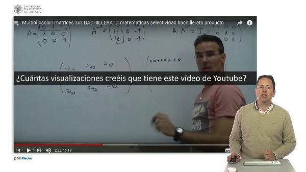 SPOC Gestión de MOOC. Vídeo online en la UPV