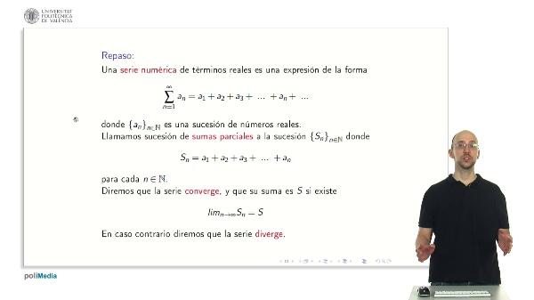 Series Numéricas: Critério Cauchy
