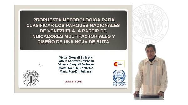 Propuesta metodológica para modificar los parques nacionales de Venezuela, a partir de indicadores multifactoriales y diseño de una hoja de ruta.