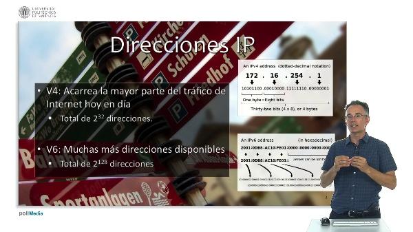Internet y navegadores web. Direcciones IP