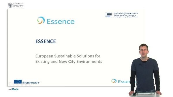 Essence. European Sustaniable Solutions for Existing and New City Environments. Presenter 11