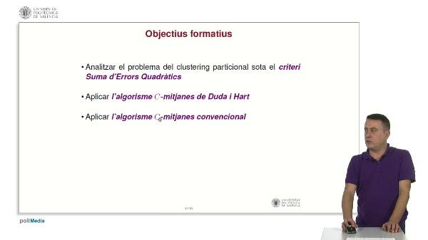 Clustering: algorisme C-mitjanes