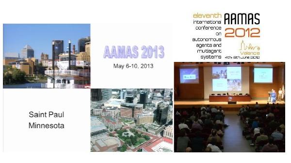 Closing / AAMAS 2013 Presentation