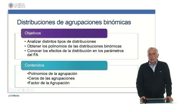 Distribución binómica.