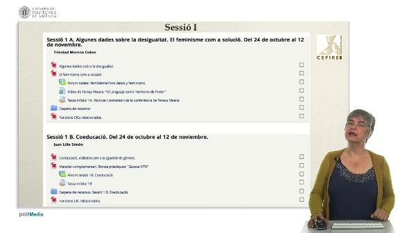 Sessió I - Desigualtats i coeducació.