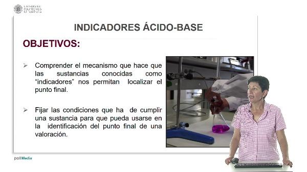 Lección 4. Indicadores ácido base.