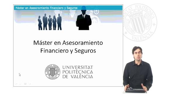 Presentación del Máster en Asesoramiento Financiero y Seguros