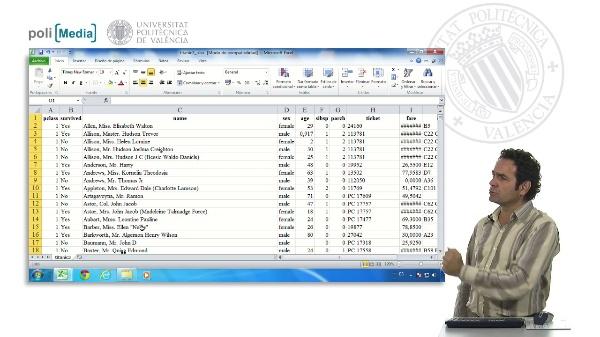 Origen de datos para una tabla dinámica