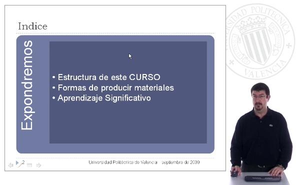 Producción de material e-learning. Introducción