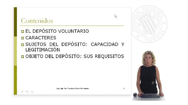 El Depósito Voluntario