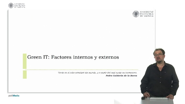 Green IT: Factores internos y externos