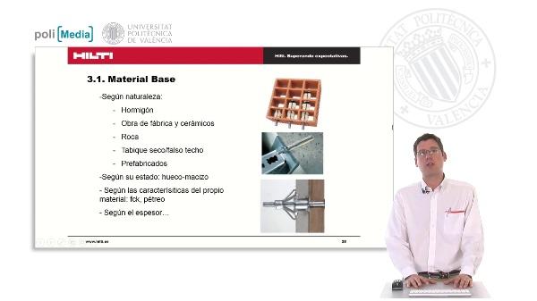 Cálculo de anclajes a posteriori: Factores que influyen en el cálculo