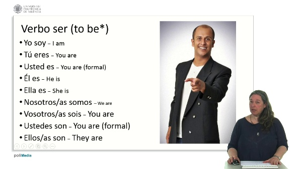 El verbo ser. Conjugación