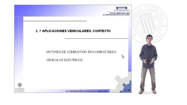 Aplicaciones vehiculares. Contexto