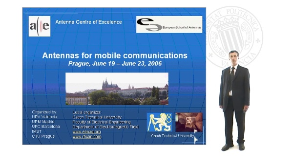 Antennas for Mobile Communications Course