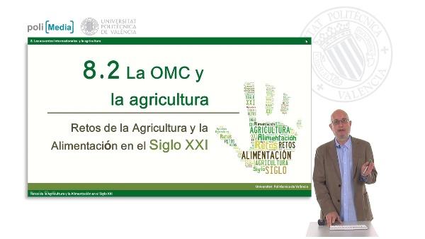 La OMC y la agriculutra