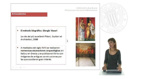 Análisis de la obra de arte: El historicismo de Joachim Winckelmann