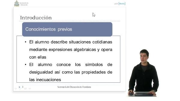 Bloque 2: Algebra, Resolver Problemas utilizando Inecuaciones Lineales