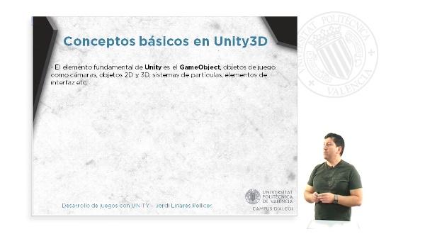 ELEMENTOS FUNDAMENTALES DE UNITY