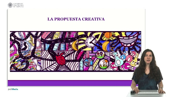 Diseño de la actividad por fases: escenarios de la propuesta creativa