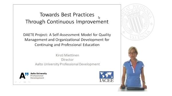 Towards Best Practices Through Continuous Improvement