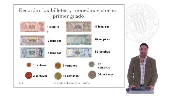 Monedas. Lección para Alumnos